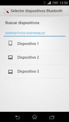 Transferir fotos vía Bluetooth - Sony Xperia E3 D2203 - Passo 14