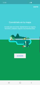 Uso de la navegación GPS - Samsung S10+ - Passo 5