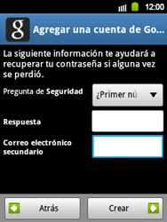 Crea una cuenta - Samsung Galaxy Y  GT - S5360 - Passo 13