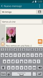 Envía fotos, videos y audio por mensaje de texto - Samsung Galaxy S5 - G900F - Passo 18