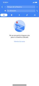 Uso de la navegación GPS - Apple iPhone XS Max - Passo 14