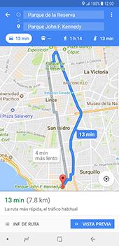 Uso de la navegación GPS - Samsung Galaxy Note 8 - Passo 15