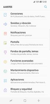 Configura el WiFi - Samsung Galaxy S8 - Passo 4