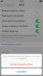 Limpieza de explorador - Apple iPhone 8 - Passo 5