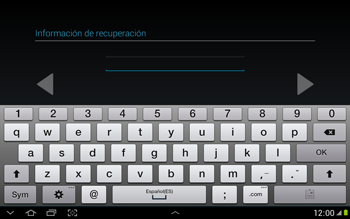 Crea una cuenta - Samsung Galaxy Note 10-1 - N8000 - Passo 17
