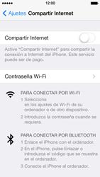 Configura el hotspot móvil - Apple iPhone 5s - Passo 6