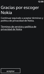 Activa el equipo - Nokia Lumia 800 - Passo 12
