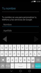 Crea una cuenta - Huawei Ascend Mate 7 - Passo 3