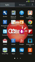 Configura el hotspot móvil - Samsung Galaxy S4  GT - I9500 - Passo 3