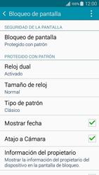 Desbloqueo del equipo por medio del patrón - Samsung Galaxy A3 - A300M - Passo 15