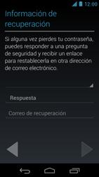 Crea una cuenta - Motorola RAZR D3 XT919 - Passo 13