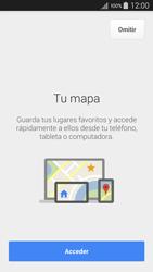 Uso de la navegación GPS - Samsung Galaxy A5 - A500M - Passo 5