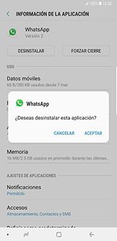 Desinstalar aplicaciones - Samsung Galaxy Note 8 - Passo 6