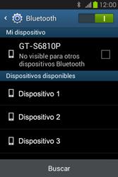 Conecta con otro dispositivo Bluetooth - Samsung Galaxy Fame GT - S6810 - Passo 6