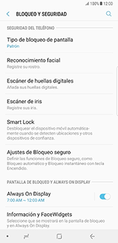 Desbloqueo del equipo por medio del patrón - Samsung Galaxy Note 8 - Passo 12