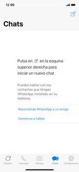 Configuración de Whatsapp - Apple iPhone X - Passo 15