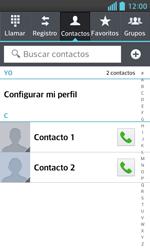 ¿Tu equipo puede copiar contactos a la SIM card? - LG Optimus L5 II - Passo 4