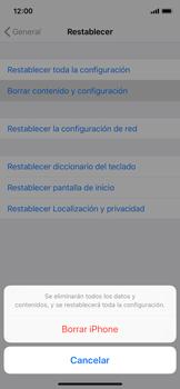 Restaura la configuración de fábrica - Apple iPhone XS - Passo 6