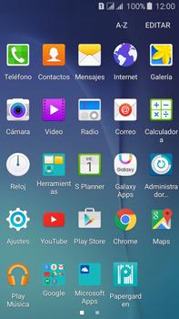 Envía fotos, videos y audio por mensaje de texto - Samsung Galaxy J7 - J700 - Passo 2