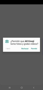 Emoji AR - Samsung S10+ - Passo 6