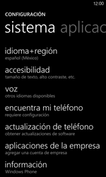 Restaura la configuración de fábrica - Nokia Lumia 920 - Passo 4
