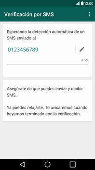 Configuración de Whatsapp - LG V10 - Passo 7