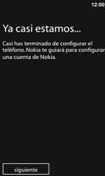 Activa el equipo - Nokia Lumia 800 - Passo 11