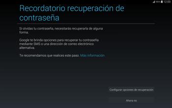 Crea una cuenta - Samsung Galaxy Note Pro - Passo 12