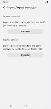 ¿Tu equipo puede copiar contactos a la SIM card? - Samsung Galaxy A10 - Passo 7