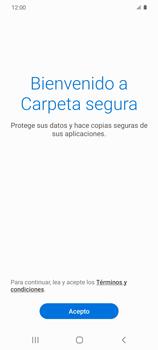 Cómo habilitar Carpeta Segura - Samsung Galaxy S20 - Passo 6