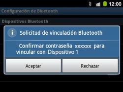 Conecta con otro dispositivo Bluetooth - Samsung Galaxy Y Pro GT - B5510 - Passo 9