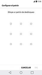 Desbloqueo del equipo por medio del patrón - LG G5 SE - Passo 8