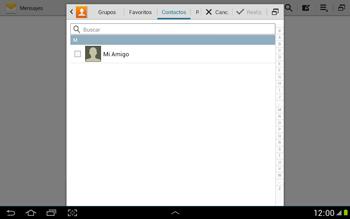 Envía fotos, videos y audio por mensaje de texto - Samsung Galaxy Note 10-1 - N8000 - Passo 5