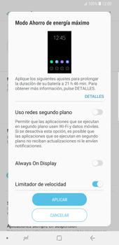 Modo de ahorro de batería - Samsung Galaxy S9 Plus - Passo 6