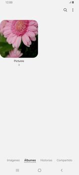 Transferir fotos vía Bluetooth - Samsung Galaxy A80 - Passo 6