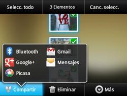 Transferir fotos vía Bluetooth - Samsung Galaxy Y Pro GT - B5510 - Passo 8
