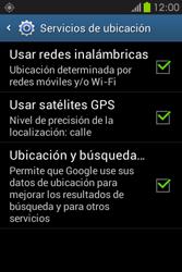 Uso de la navegación GPS - Samsung Galaxy Fame GT - S6810 - Passo 9