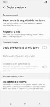 Realiza una copia de seguridad con tu cuenta - Samsung Galaxy A10 - Passo 6