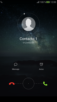 Contesta, rechaza o silencia una llamada - Huawei Mate S - Passo 3