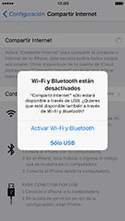 Comparte la conexión de datos con una PC - Apple iPhone 7 - Passo 5