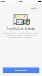 Uso de la navegación GPS - Apple iPhone 5c - Passo 5