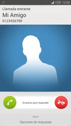 Contesta, rechaza o silencia una llamada - Sony Xperia Z2 D6503 - Passo 4