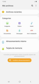 Transferir datos desde tu dispositivo a la tarjeta SD - Samsung Galaxy A30 - Passo 4