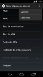 Configura el Internet - Motorola Moto G - Passo 15