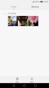 Transferir fotos vía Bluetooth - Huawei Mate 8 - Passo 3