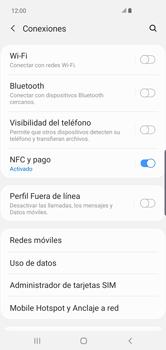Configura el hotspot móvil - Samsung S10+ - Passo 5