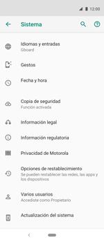 Actualiza el software del equipo - Motorola One Vision (Single SIM) - Passo 7