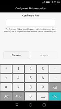Desbloqueo del equipo por medio del patrón - Huawei G8 Rio - Passo 12