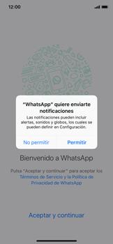Configuración de Whatsapp - Apple iPhone X - Passo 5