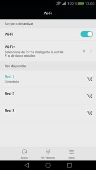 Configura el WiFi - Huawei Mate S - Passo 7